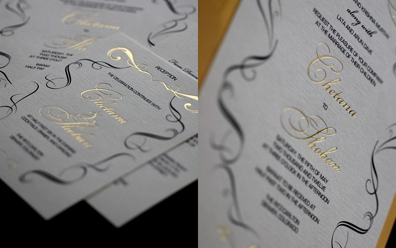 17 Best images about wedding invitations and stationery on – Elegant Black and White Wedding Invitations