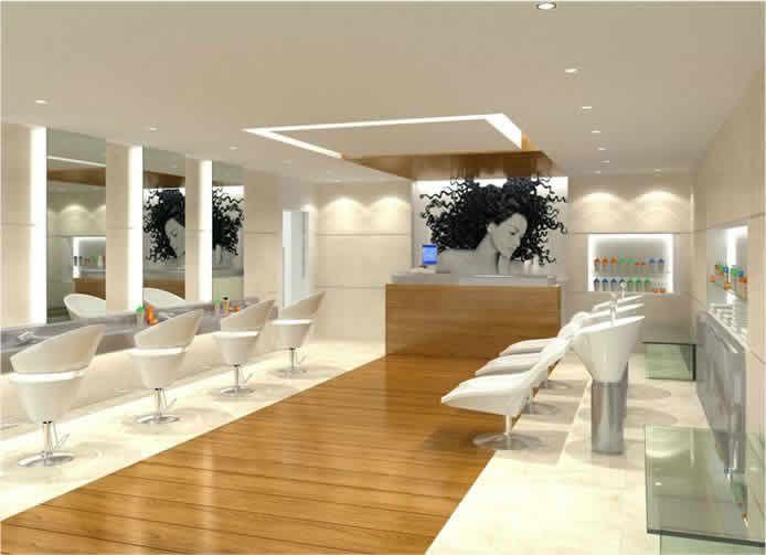All white and bright | salon interiors | Pinterest | Salons, Salon ...