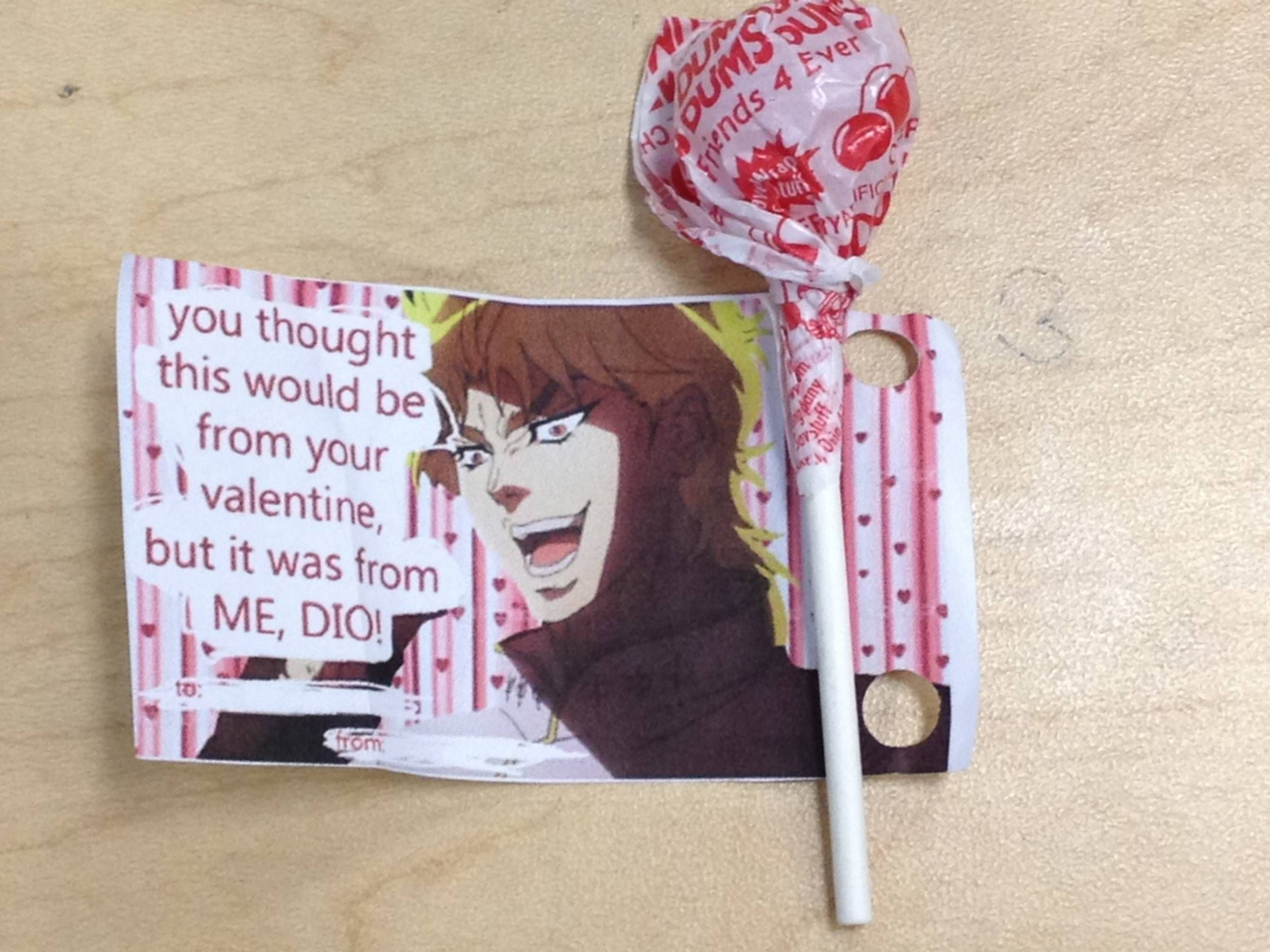 Jojo S Bizarre Adventure Valentine Version Anime Pinterest