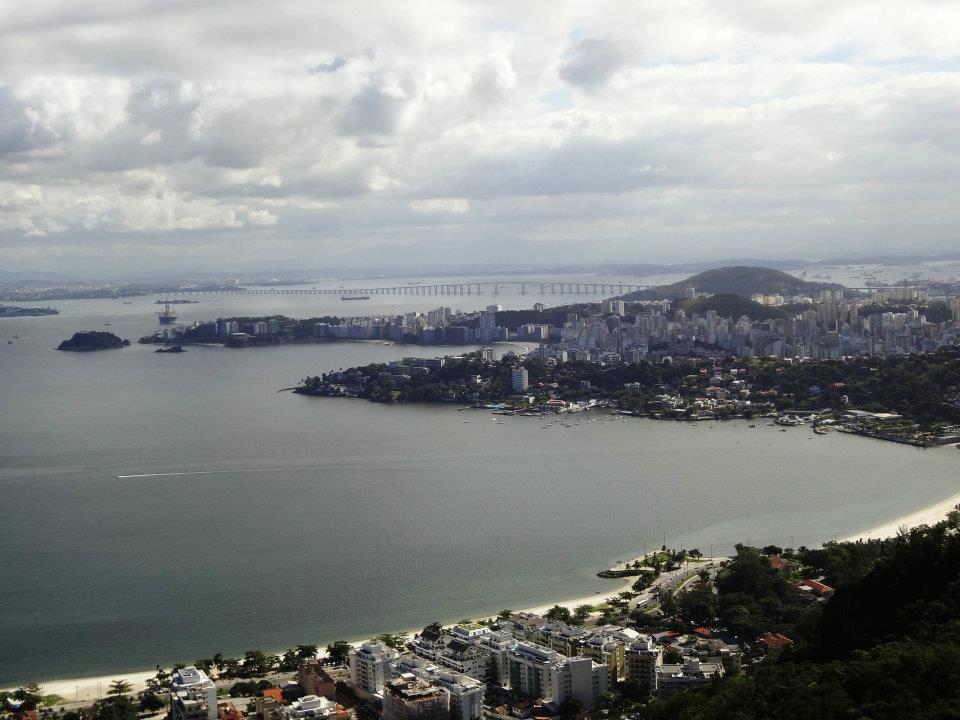 Parque da Cidade de Niterói....vista da Ponte Rio - Niterói.....
