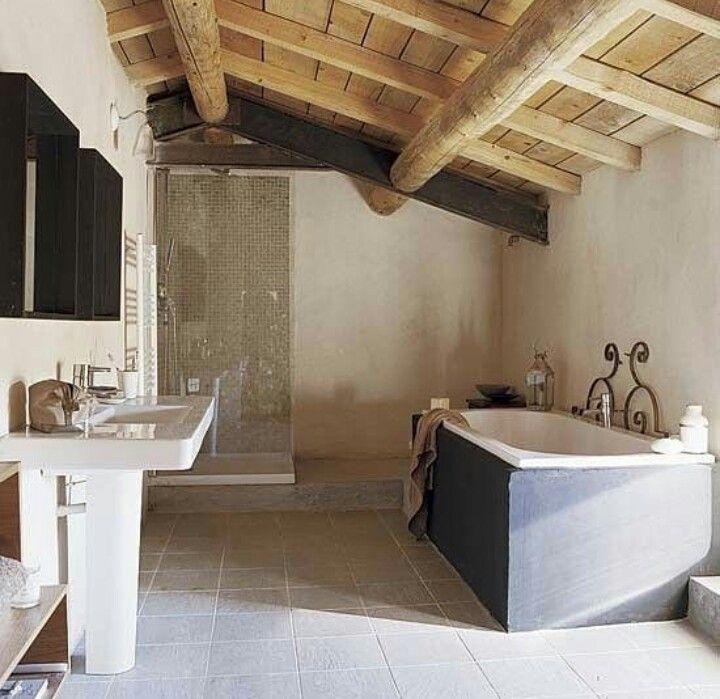 Badezimmer, Französisch Badezimmer, Badezimmer Bad, Badezimmer Interieur,  Master Bad, Badezimmer Ideen, Dachgeschoss Badezimmer, Halle, Sdb