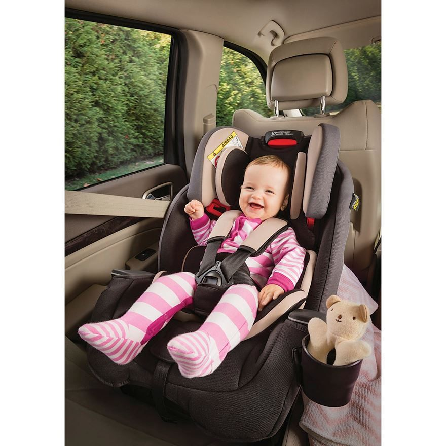 Graco Milestone All In One Car Seat Group 0 1 2 3 Aluminium Image