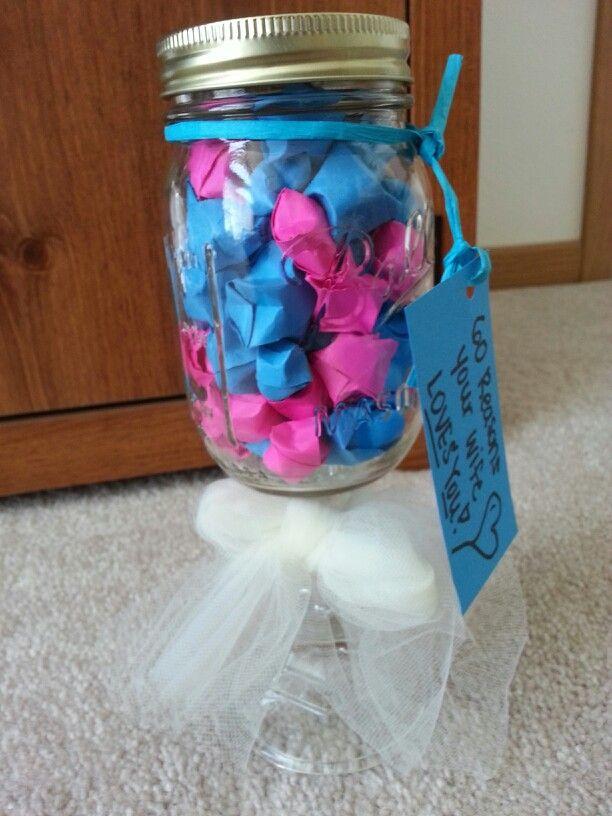 Anniversary gift idea using a mason jar and traditional one year anniversary gift idea using a mason jar and traditional one year gift itempaper negle Image collections