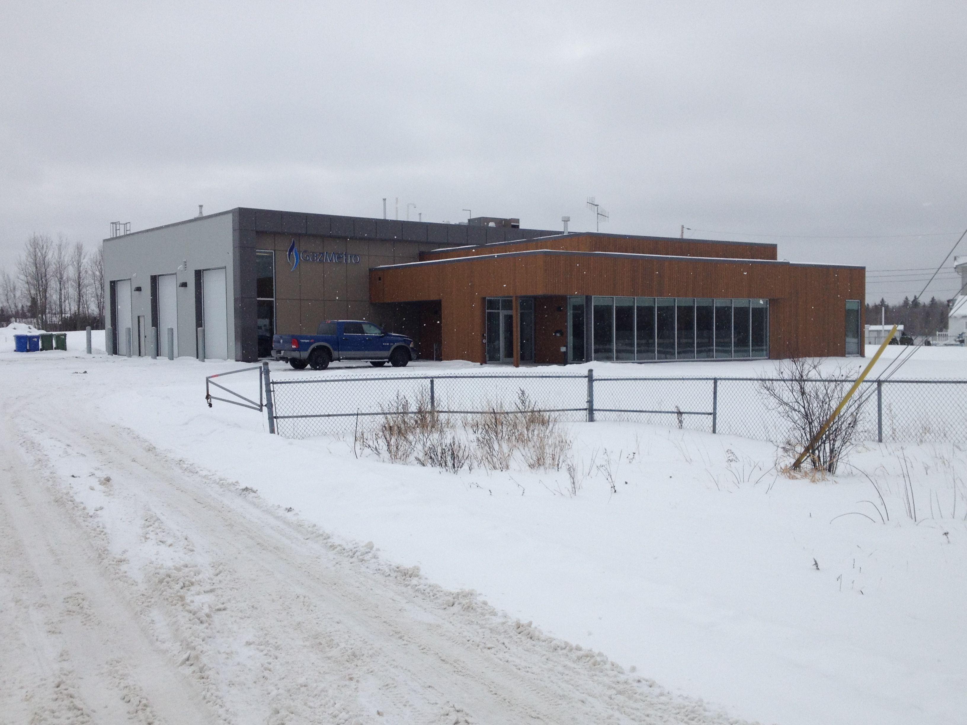 Gaz Métro - Bureau administratif Rouyn-Noranda, Abitibi-Témiscamingue