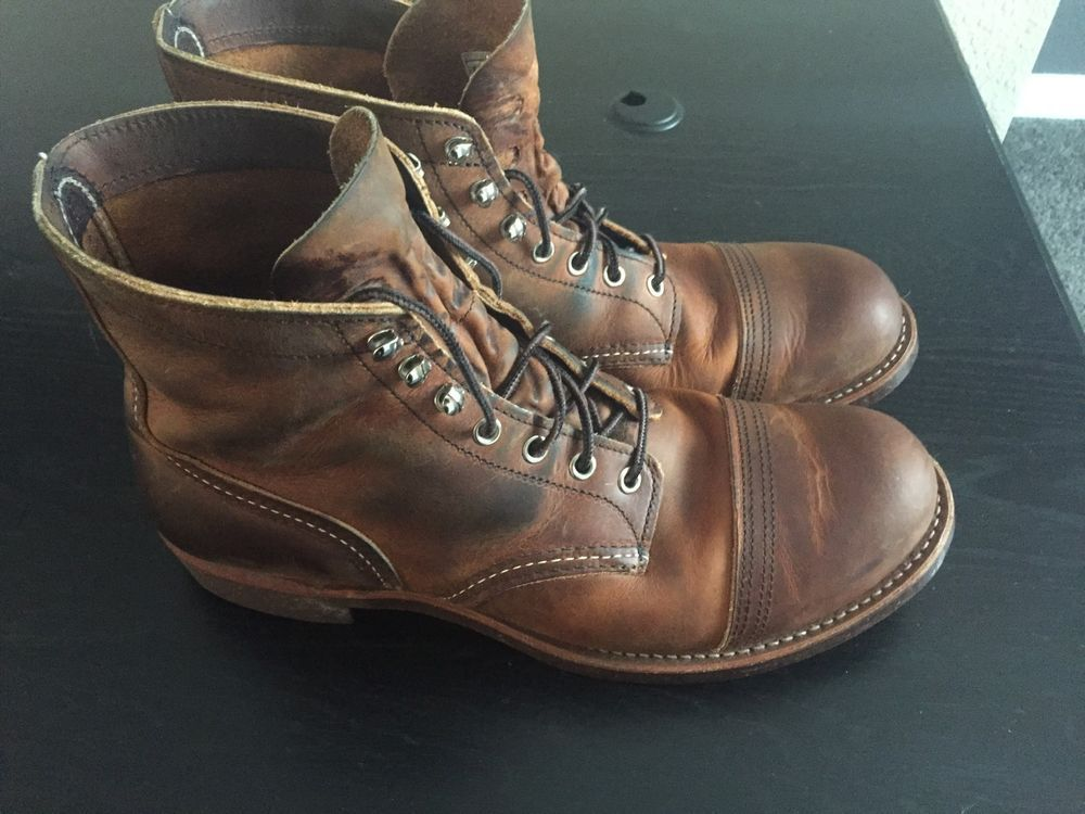 Red Wing Iron Ranger Cap Toe Copper
