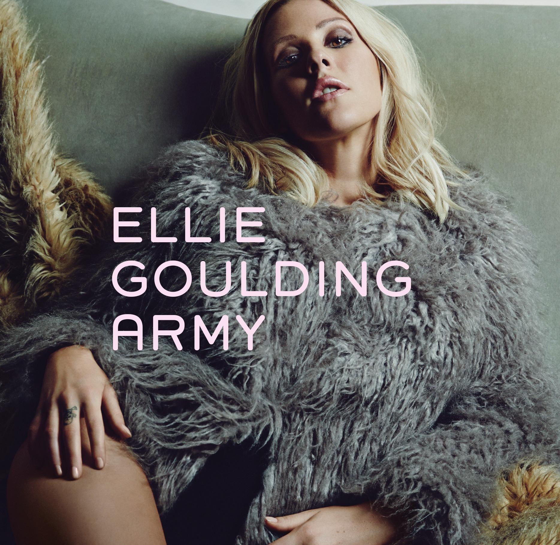 Ellie Goulding – Army (single cover art)
