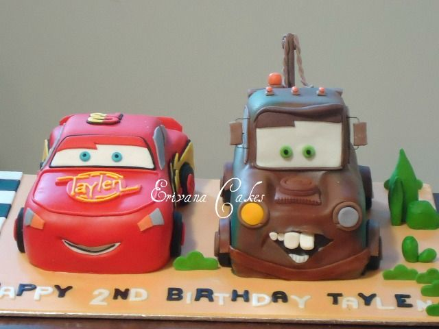 Tow Mater And Lightning Mcqueen If Only Our Birthdays