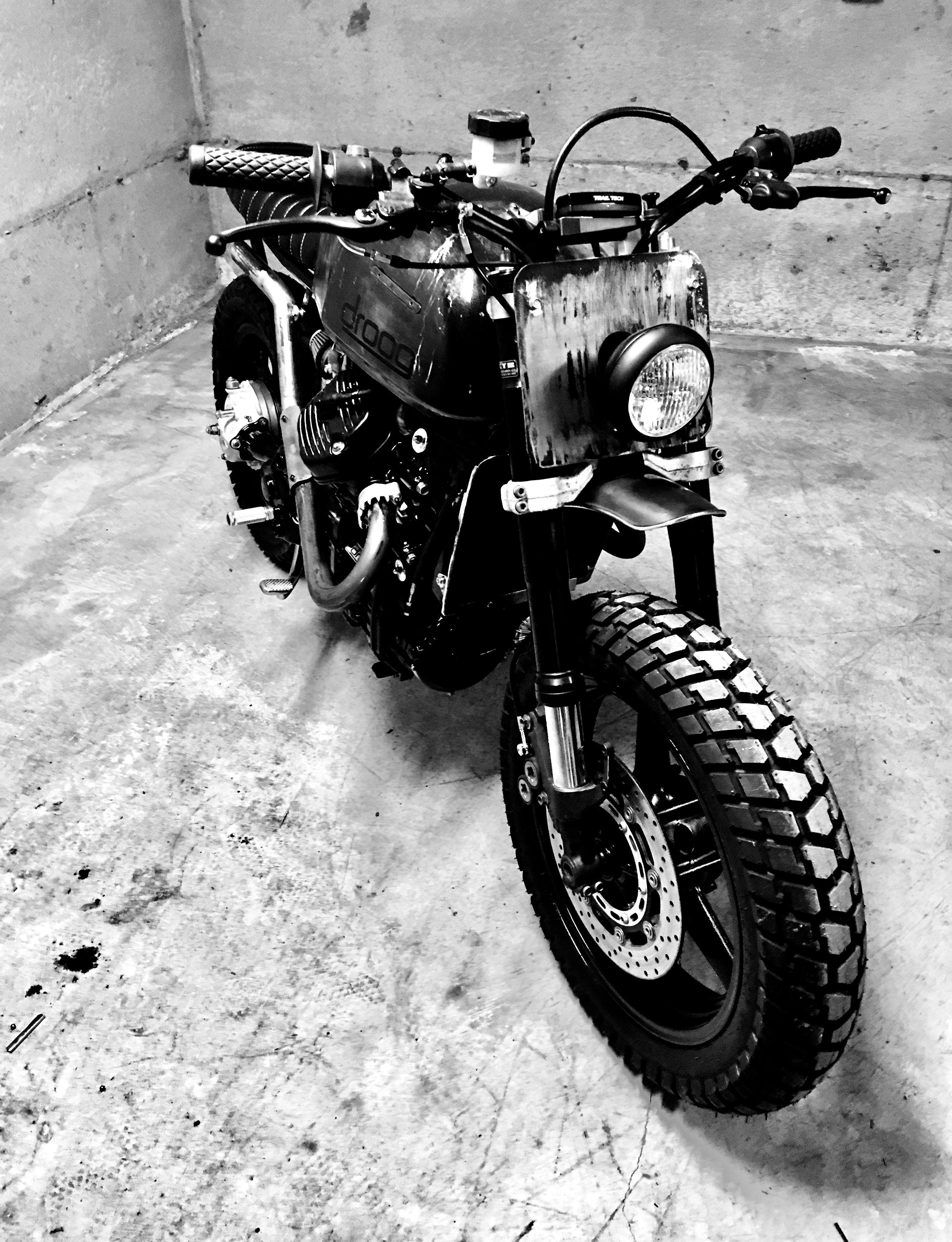 Droog Moto CX500 Scrambler