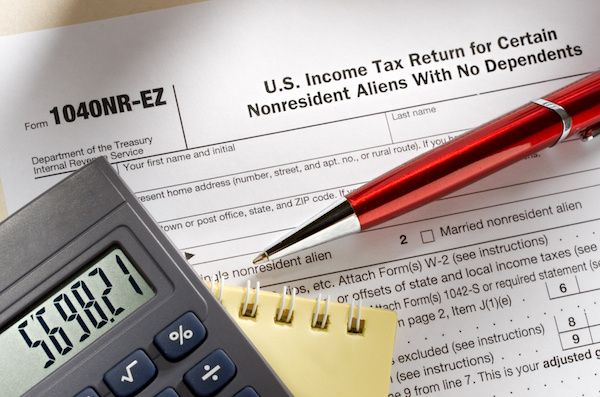 1040 Nr Ez The Complex Truth About Simple Form 1040 Nr Tax
