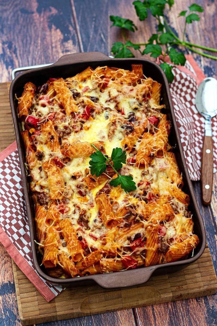 Gratin de pâtes à la mexicaine | Recettes de cuisine ...