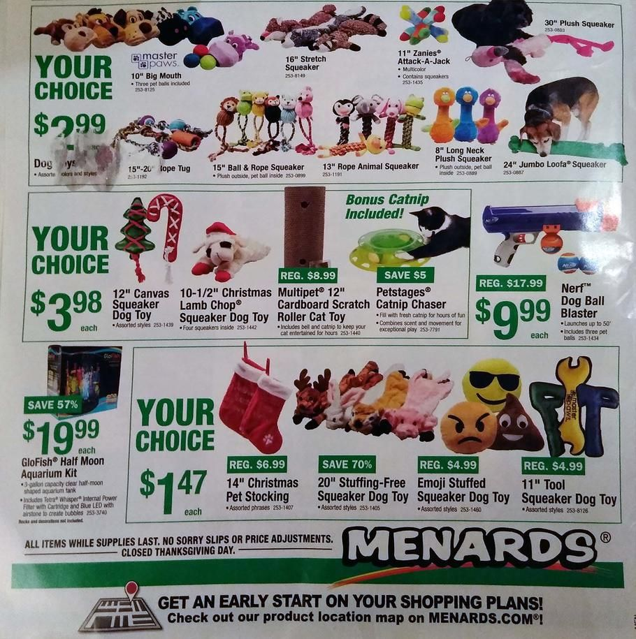 Menards Black Friday 2017 Ad Scan, Deals and Sales Menards