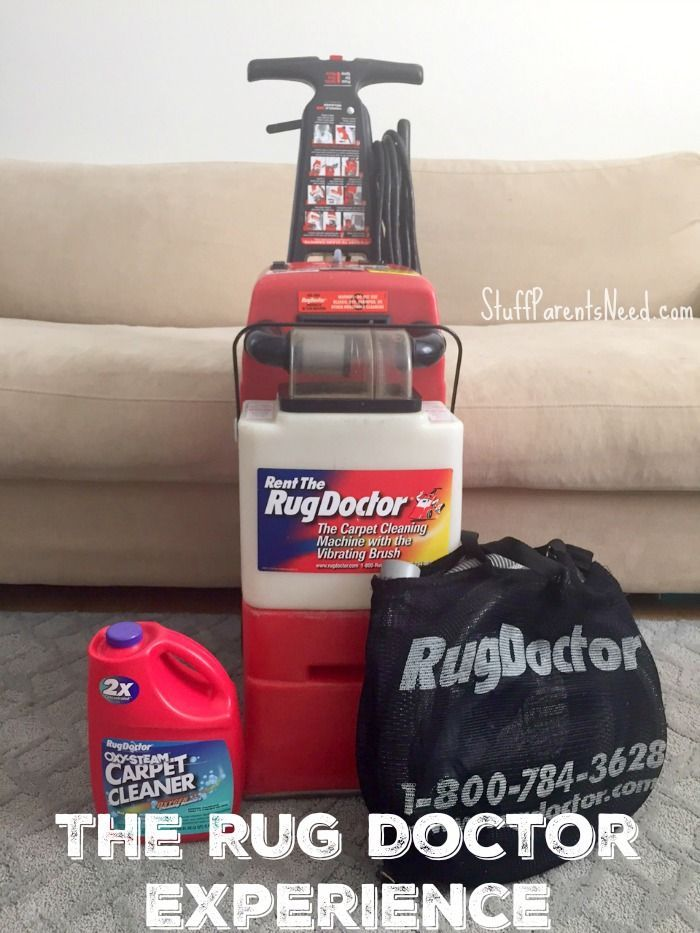 We rented a Rug Doctor and here's how it works (both logistically and in terms of results). #StayClean2016 #RugDoctorDifference #ad