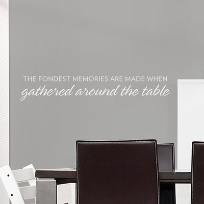 Wallums Wall Decor The Fondest Memories Wall Decal Memory Wall