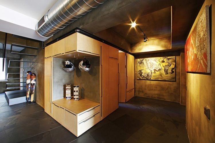 moderne penthouse wohnung, moderne penthouse wohnung in istanbul von ofist | pinterest, Design ideen