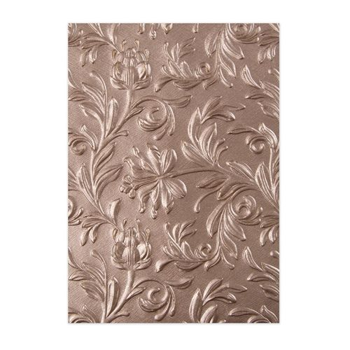 Sizzix 3-D Texture Fades Embossing Folder by Tim Holtz Elegant 664172