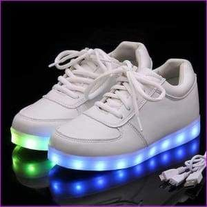 96b078850d04 Lotus Jolly Unisex Led Casual Colorful Shoes USB Charging Lighted Shoes.(Big  Sale)