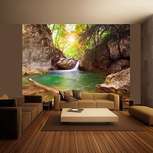 Komar, Vlies Fototapete »Bloom«, 368 248 cm, Komar Landscaping - fototapete für badezimmer
