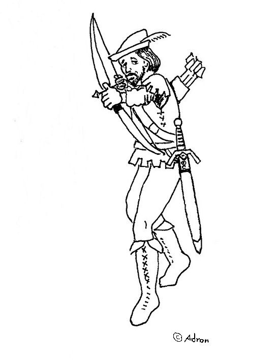 coloring pages for kids by mr adron free robin hood coloring page you can - Robin Hood Coloring Pages