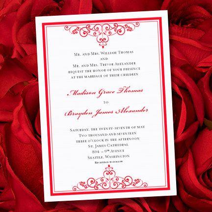 Vintage Wedding Invitations \