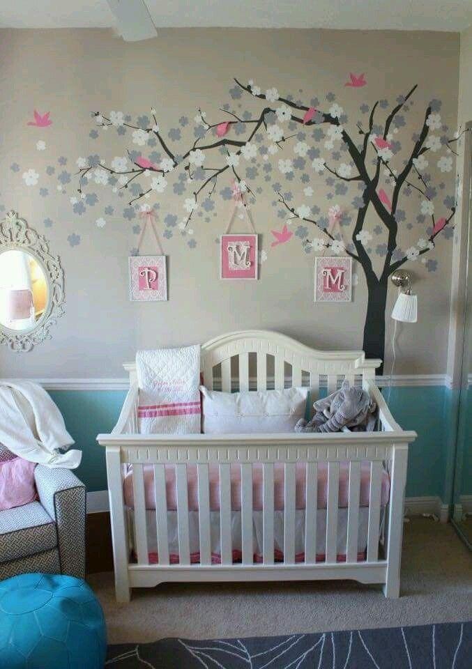 Como Organizar Y Decorar Habitaciones Infantiles Habitaciones Infantiles Varones Ideas Para Decorar Dormitorios Baby Nursery Design Girl Room Baby Girl Room
