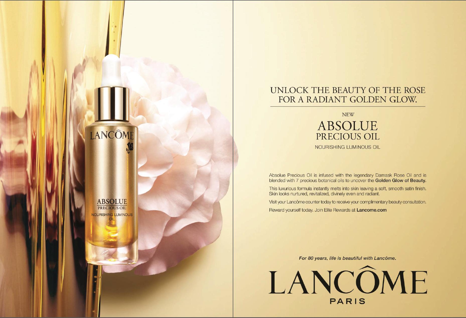�ล�าร���หารู��า�สำหรั� Lancome Absolue Precious Oil Nourishing Luminous Oil