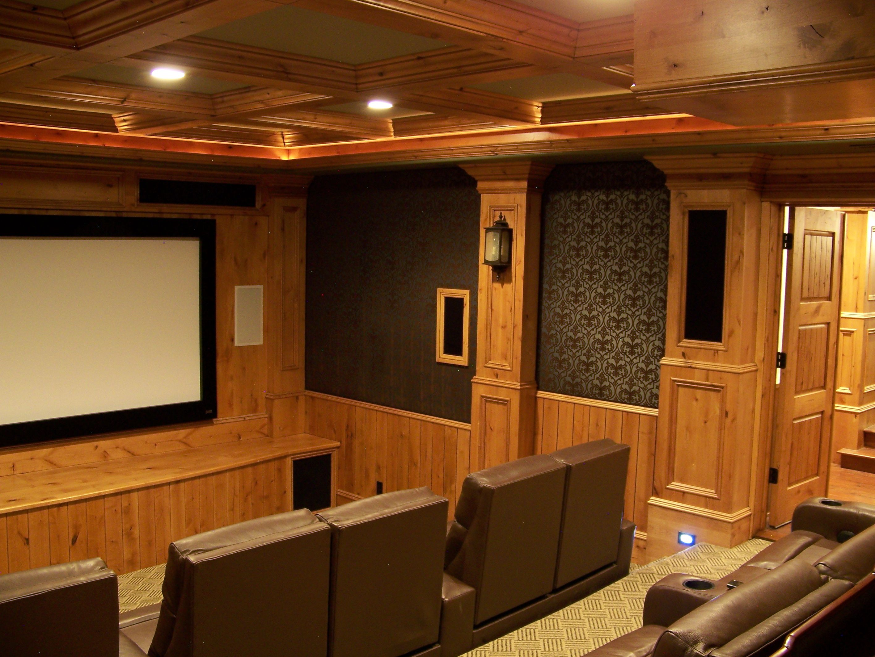 Home Theater Room Design | Interior Design Blog Interior Designer Spotlight  Kathy Cope