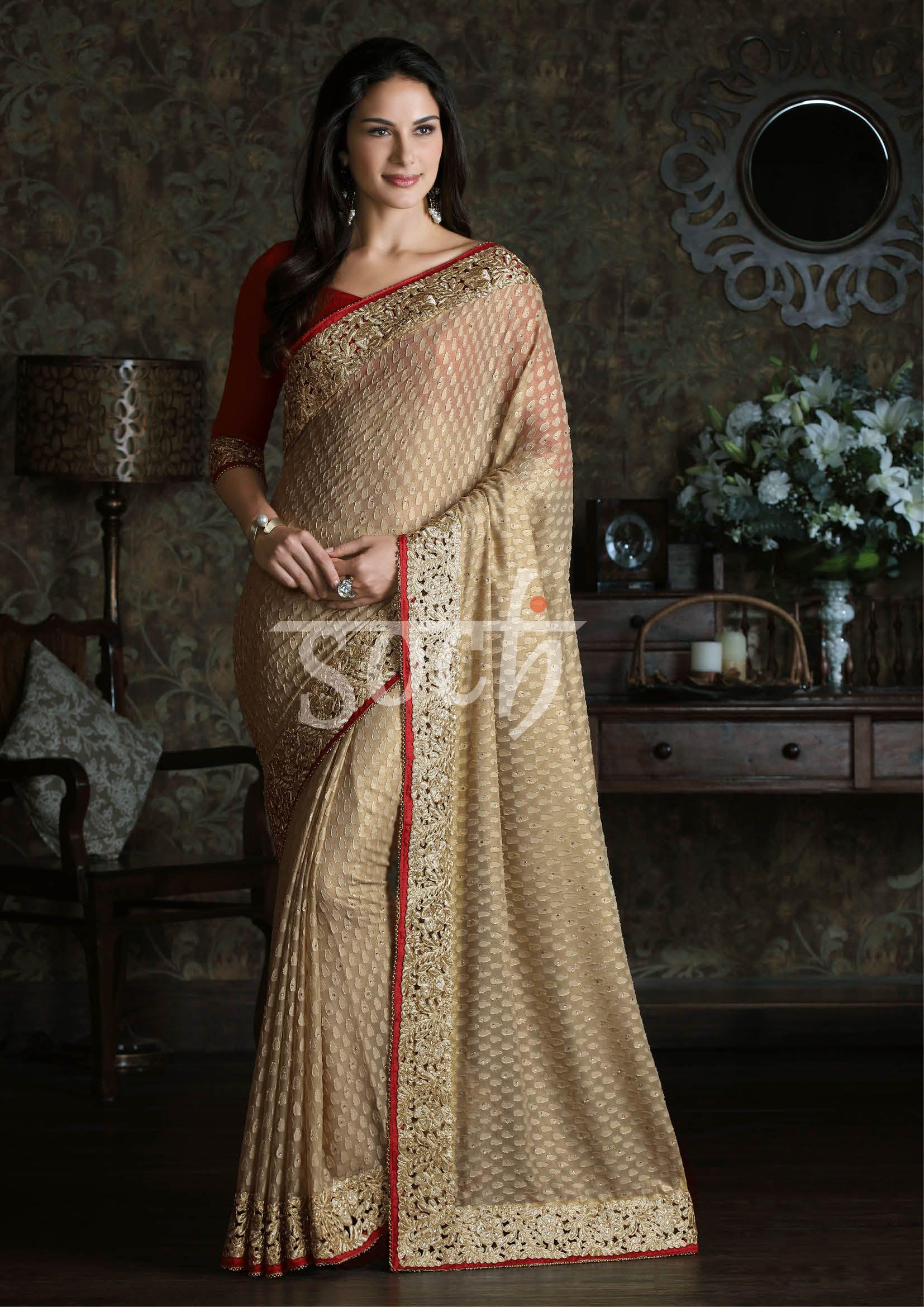 71de68a4b0b271 Look regal in a  Soch saree  Drapeyourstyle
