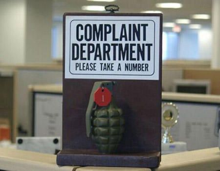 Exclusion Clause | Funny complaints, Funny signs, Office humor
