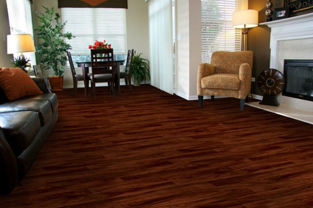 Deep red hardwoods Vinyl flooring, Allure flooring