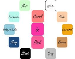 What Colors Goes With Mint Green And Light Pink Google Search