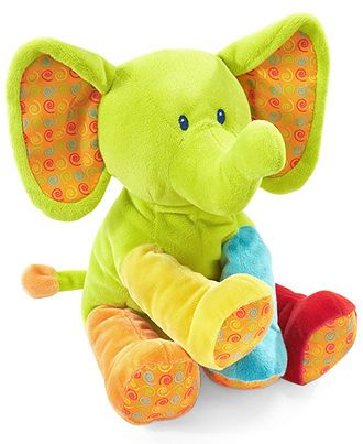 First Impressions Baby Toy Baby Girls Or Baby Boys Bright Plush