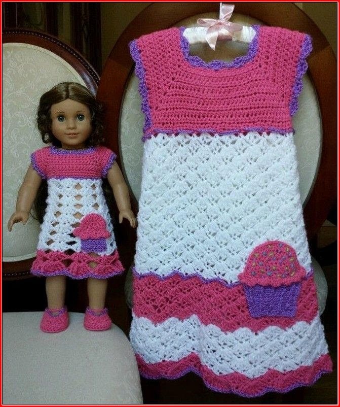 Free Crochet Patterns For 18 American Girl Doll Clothes Projects