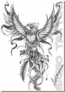 Tatuagem Fenix 3d Phoenix Bird Tattoos Throat Tattoo Phoenix