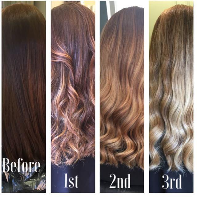 Brown To Blonde Blonde Hair Transformations Dark Blonde Hair Brown Blonde Hair