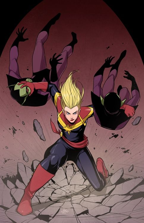 Captain Marvel! because I have a lot of free time. ~ supernormalstep