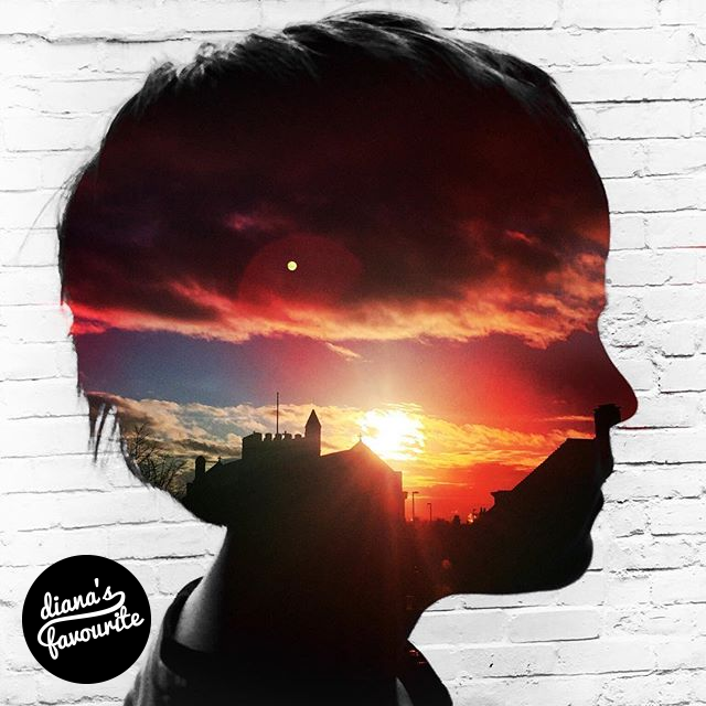 Via @robincowings!  #dianaphotoapp #dianaphoto #dianaapp #photoapp #doubleexposure #art #vintage #camera #photo #silhouette #kid #portrait #sunset #city #church