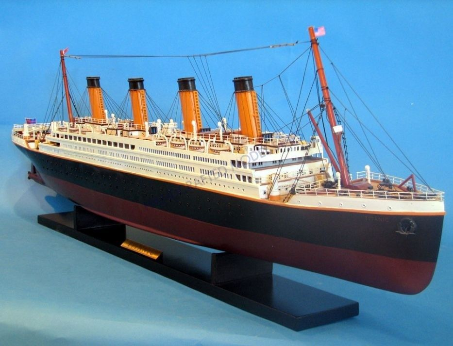 RMS Titanic Model Cruise Ship 40 inch – Famous Ocean Liner Math Worksheet Answers