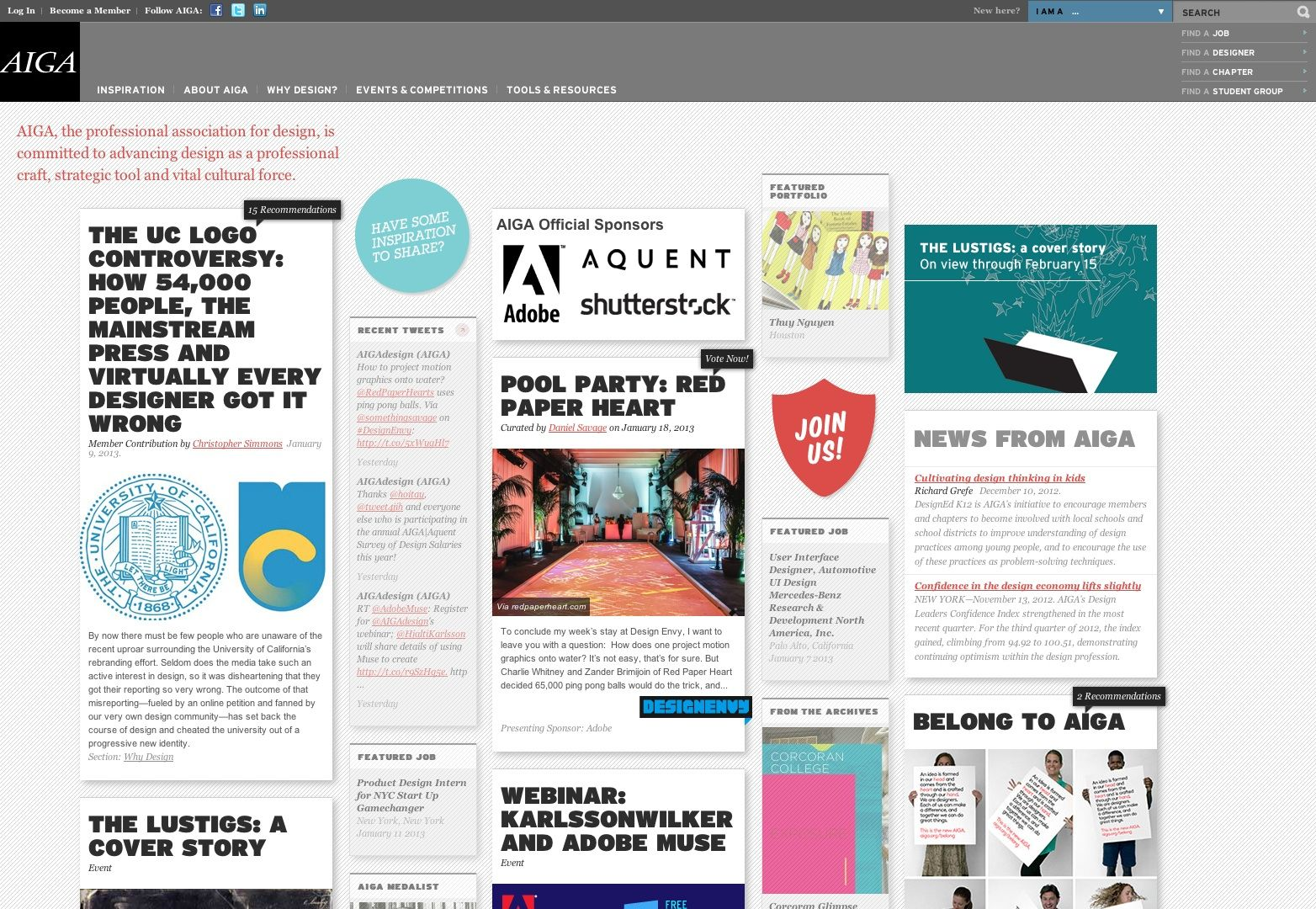 15 beautiful blog designs newsfeed inspiration for Wordpress design
