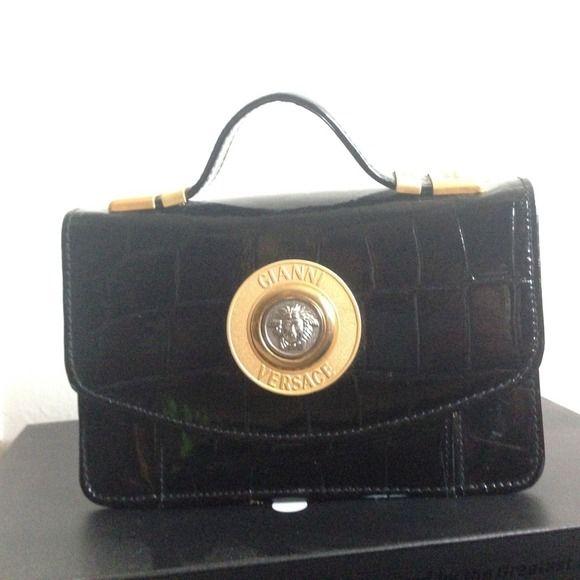55b73524e785e Versace Bags - Vintage Gianni Versace Clutch w/wallet slots | Style ...