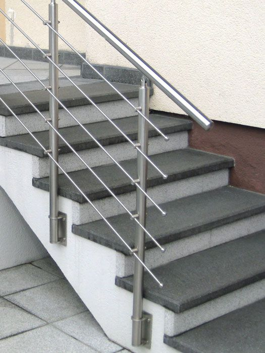 Stainless Steel Handrail Moderna In 2018 Stairs Stair Railing