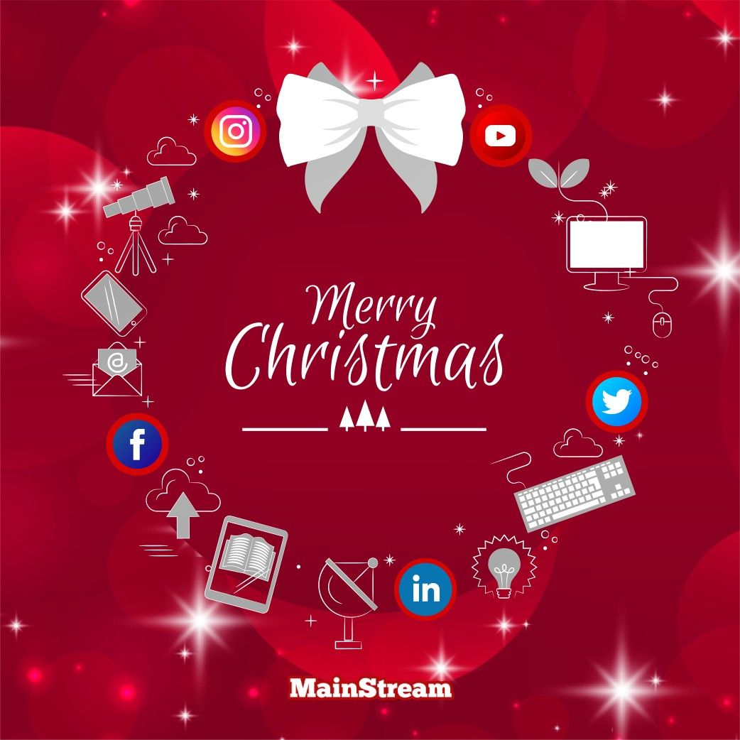 May you all have a 🎅Merry Christmas🎄 full of joy and comfort happy holidays 🎊❄️🌠 🔻 🔻 🔻 #mainstreampronet #mainstream #digitalmarketing #happyholidays #holidayseason #holidayoffers #onlineadvertising #socialmediamarketing #christmasgifts #branding #webdevelopment #christmasday #appdevelopment #numberone #merrychristmas #ميلاد_مجيد