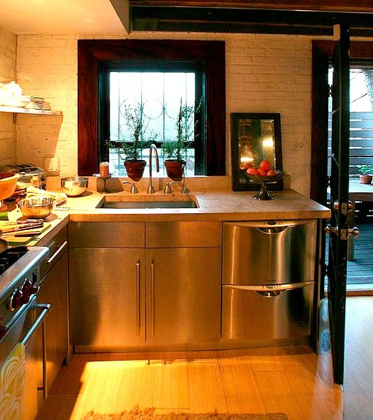Kitchen Renovation Apartment Therapy: Before & After: A Carriage House Kitchen In Brooklyn