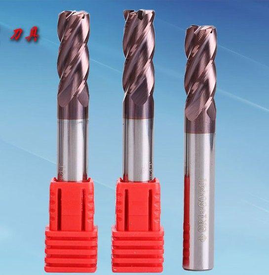 diameter 5mm HRC58 Carbide Ball Nose End Mills machine milling cutter for steel