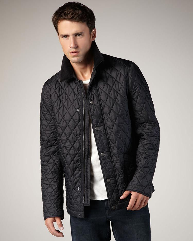 9e8d4aa33 Quilted Jackets For men | Мужской стиль in 2019 | Fashion, Men's ...