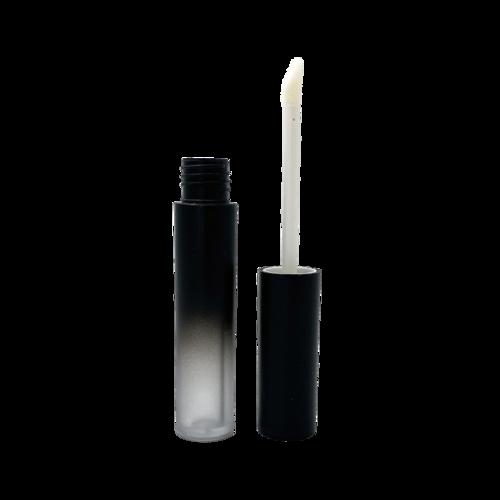 1037 Matte Ombred Black Round Lipgloss Tube 2 5ml Lip Gloss Homemade Lip Gloss Matte Lip Gloss