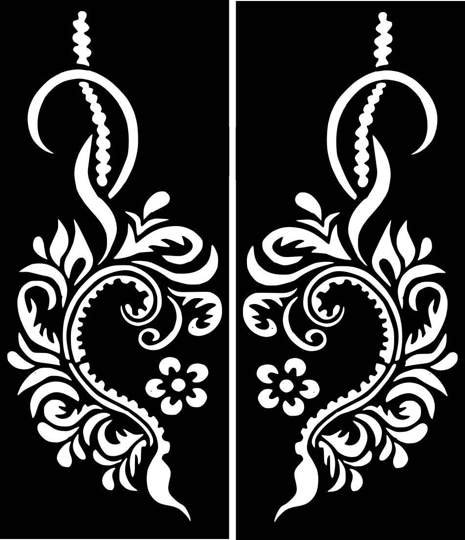 Temporary Tattoo Stencils Henna: Variety #Henna Temporary Tattoo Glitter #Stencil #Sticker