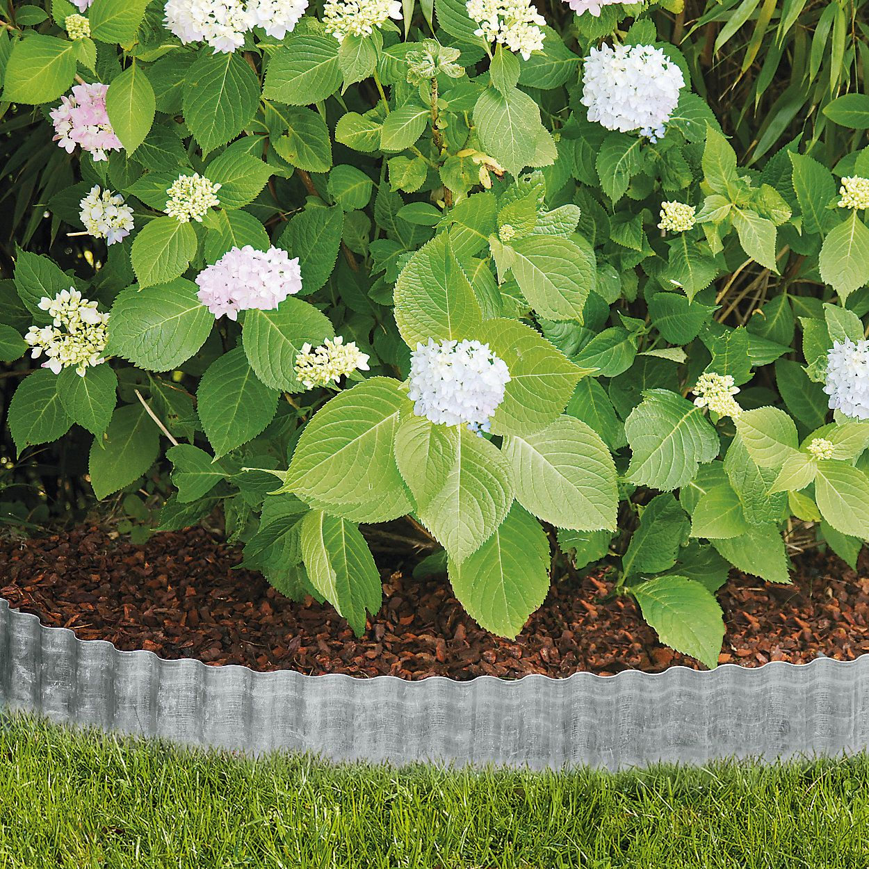 Corrugated Sheet Metal Lawn Edging With Images Lawn 640 x 480