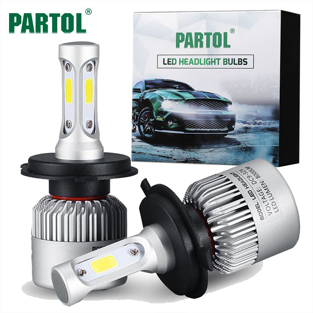 Buy Now 4 Xmas N Ny Partol S2 H4 H7 H13 H11 H1 9005 9006 H3 9004 9007 9012 Cob Led Headlight 72w 8000lm Car Headlight Bulbs Led Headlights Led Headlights Cars