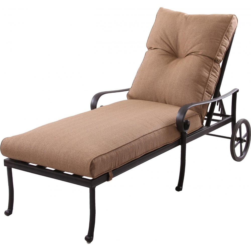 Darlee Santa Anita Cast Aluminum Patio Chaise Lounge Chaise Lounge Patio Chaise Patio Chaise Lounge