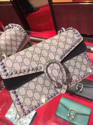 c5087f8b8 Gucci Dionysus GG Supreme Shoulder Bag Crystals 400249 Black #gucci  dionysus 400249 #gucci #dionysus #gucci 400249 #dionysus 400249